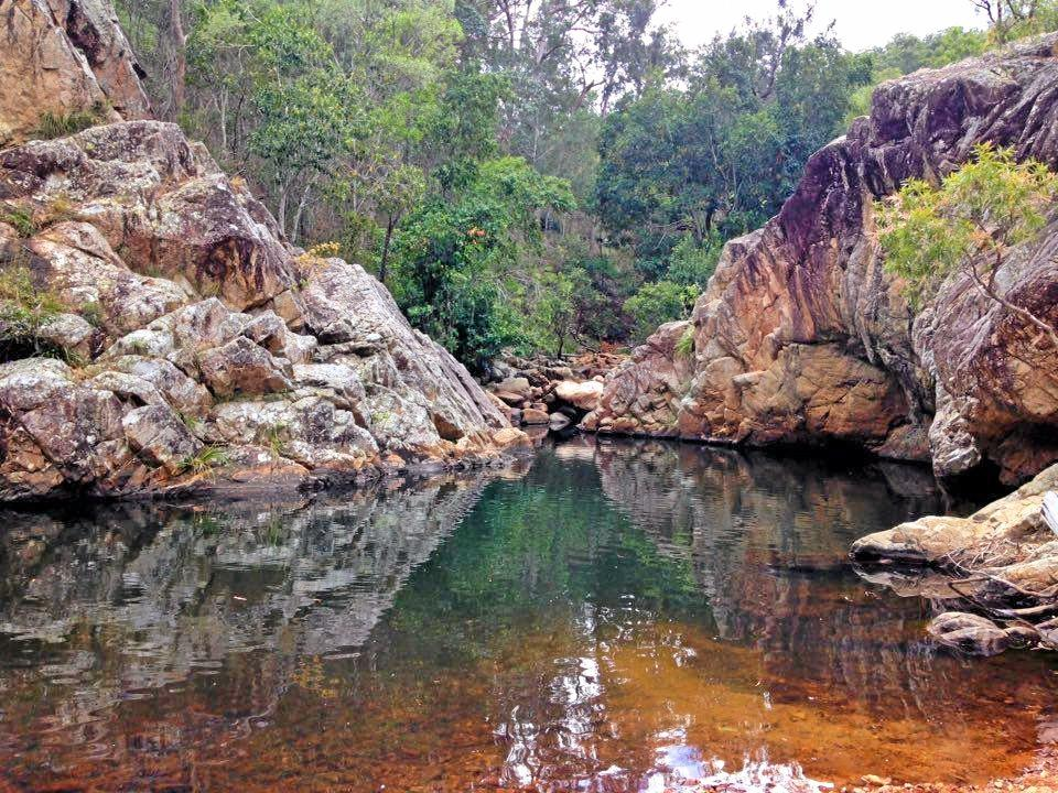NICE SPOT: Blackmans Gap is a great place to visit for a quick swim and bush walking.
