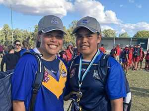 Family driving force behind Murgon girl scoring footy dream