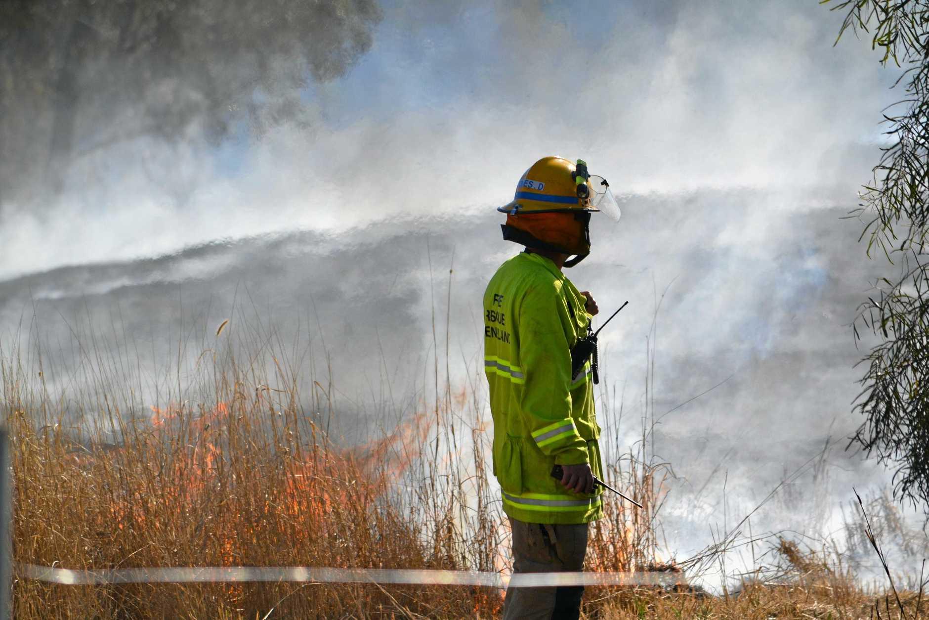 CALL TO VOLUNTEER: Gladstone Rural Fire Service is looking for volunteers.