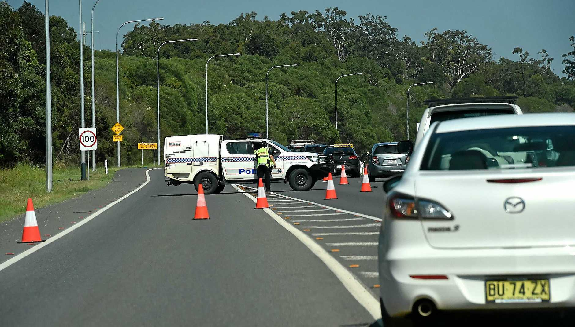 The forensic crash unit is investigating the cause of the crash.
