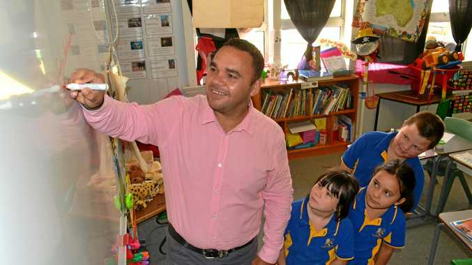 TOP TEACHING: Surat State School principal Justin Washington is proud of his team, who were honoured at the state showcase awards.