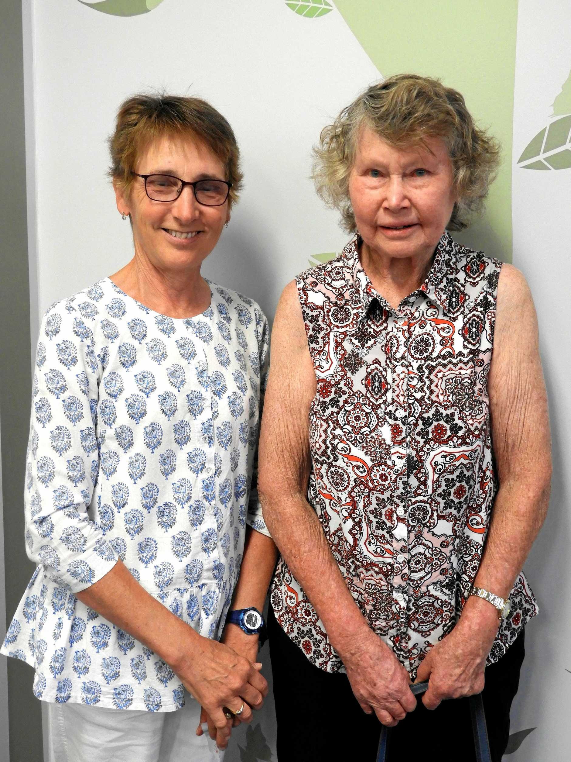 Robyn Bowman was a keen gardener and Carol Ernst helped a lot on the farm.