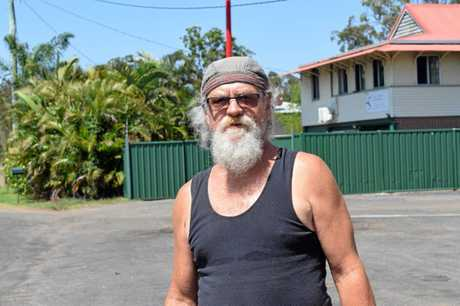 ROAD CONDITIONS: David Walker says the condition of Bundaberg Gin Gin Rd is concerning.