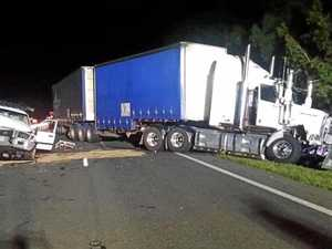 Driver 'five times over, driving wrong way down Bruce Hwy'