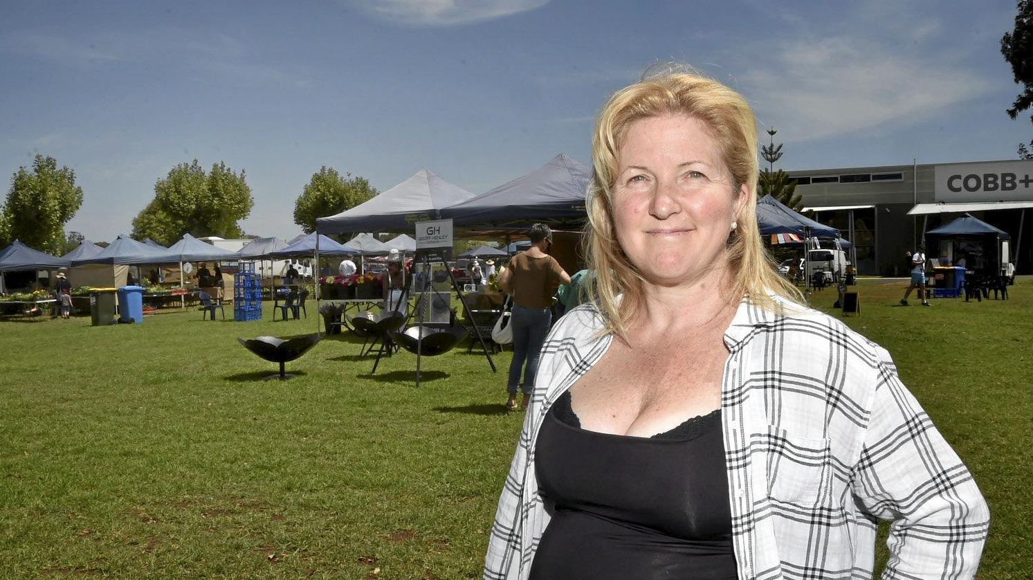 FRESH IDEA: Josie Howard is crowdfunding for a 12-month marketing campaign for the My Local Feast Farmers' Markets.