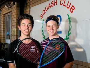 Pair show future is bright in squash and final showed it