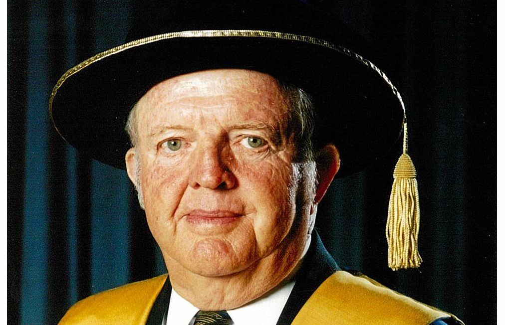 GONE BUT NOT FORGOTTEN:  Academics at Southern Cross university have paid tribute to the former chancellor, Dr Lionel Phelps, who sadly passed away on November 3.