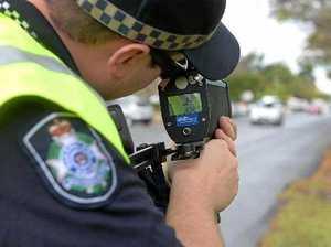 Five speeders handed hundreds in fines