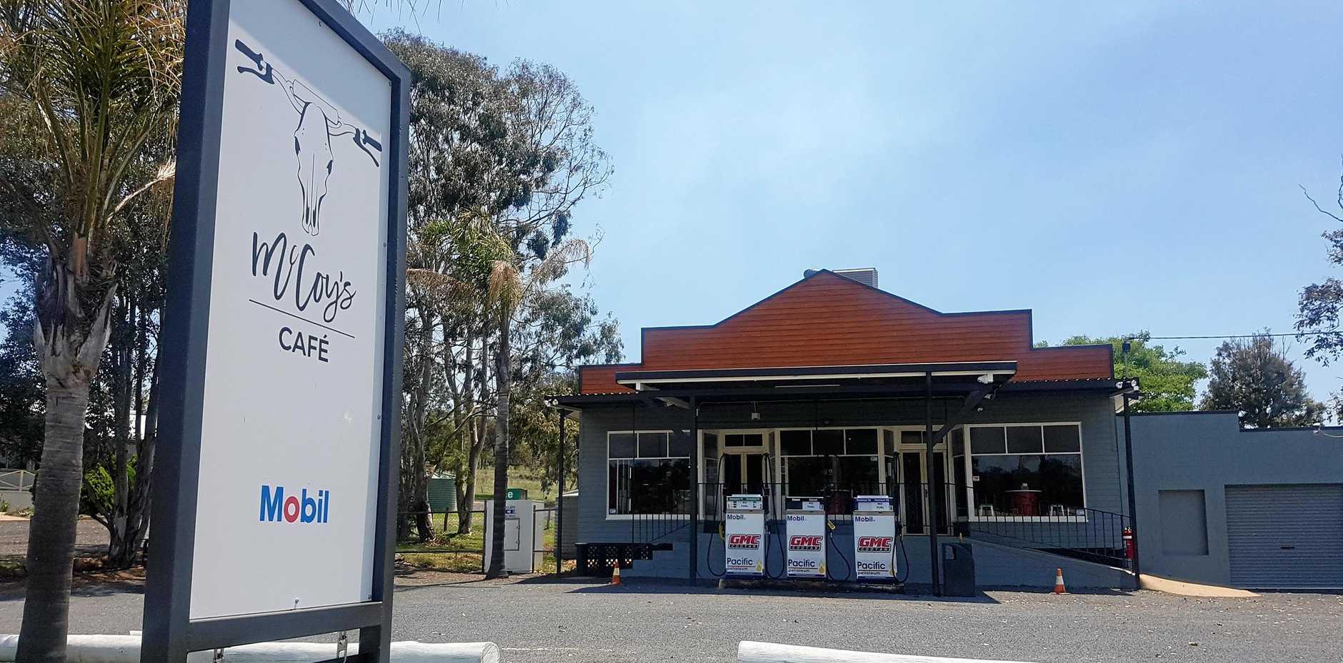 NO FUEL: McCoy's Cafe will no longer trade as a fuel retailer in Cooyar.