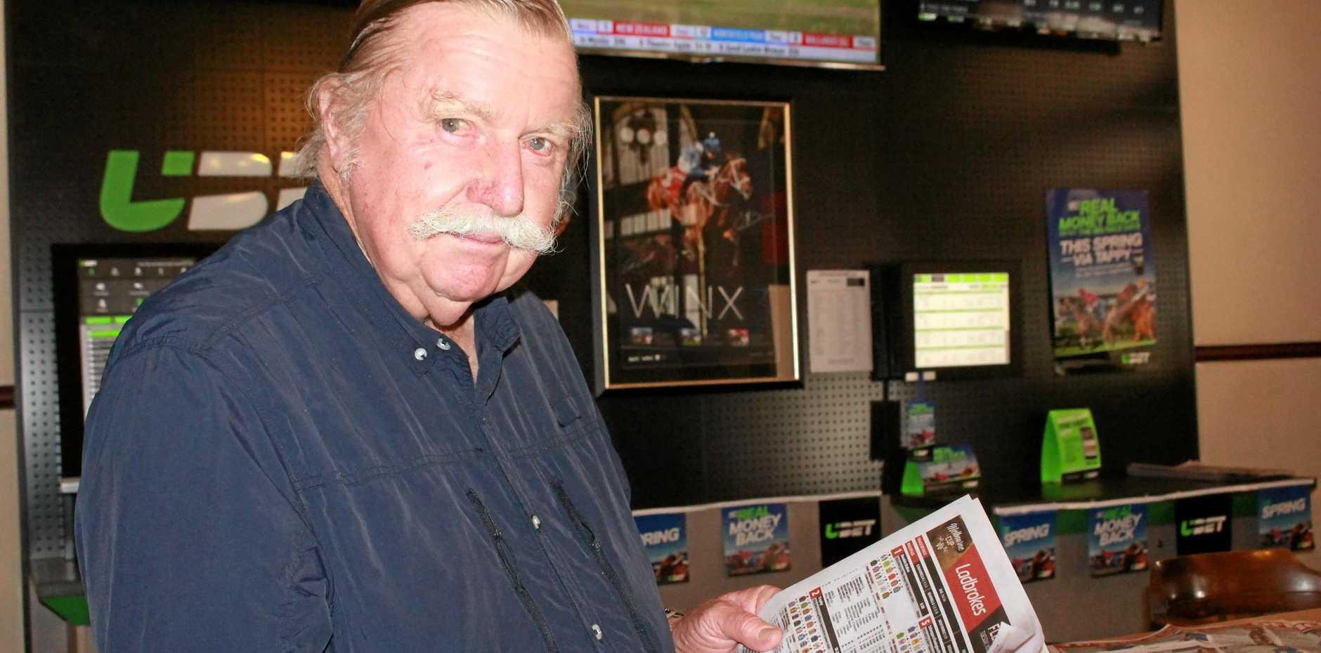 GREAT OZ: Warwick bookmaker John Thornton said the Melbourne Cup had