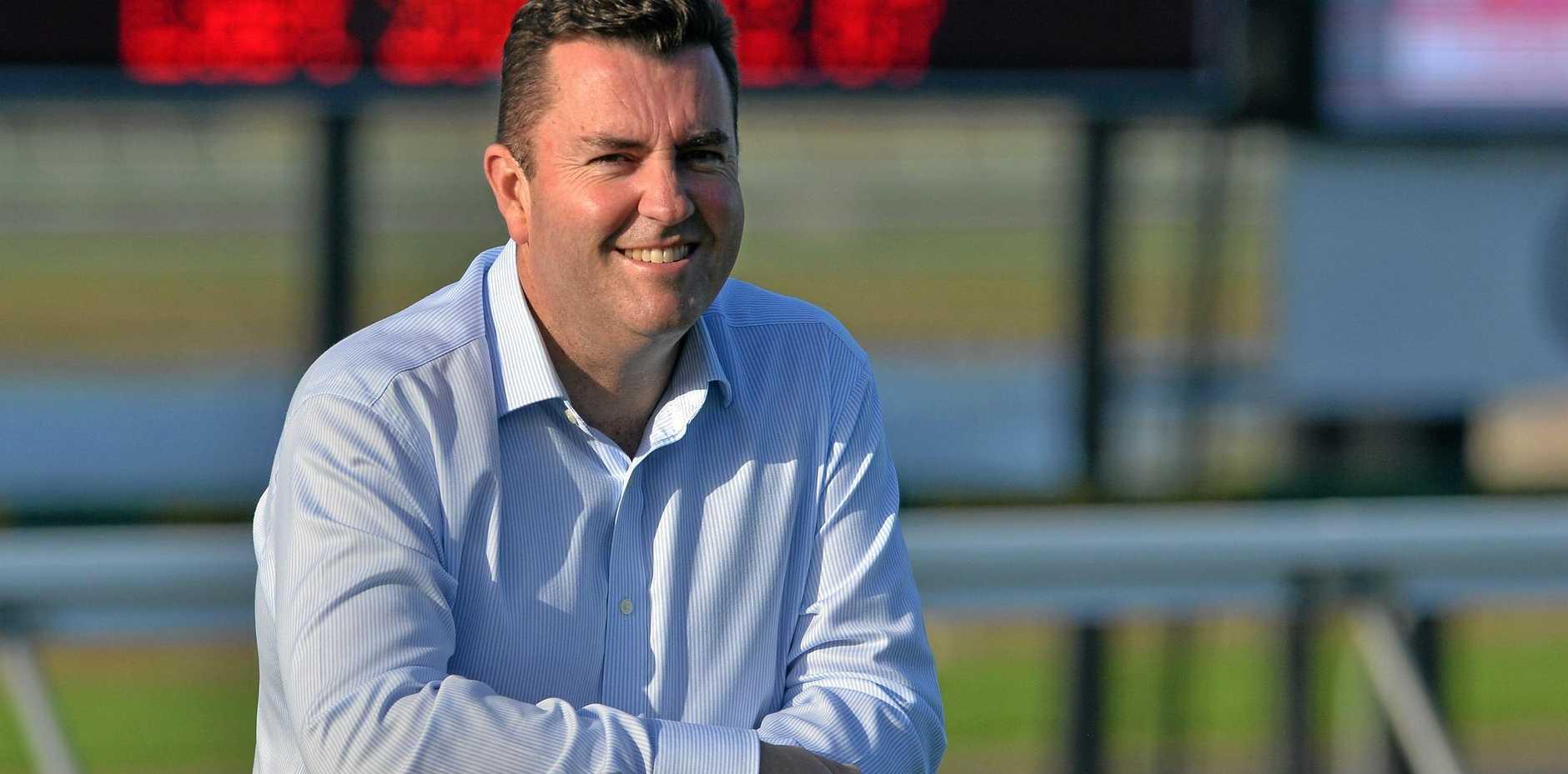 Sunshine Coast Turf Club new CEO John Miller.