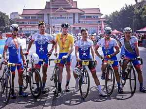 Evers wears yellow jersey into Yunnan Gran Fondo