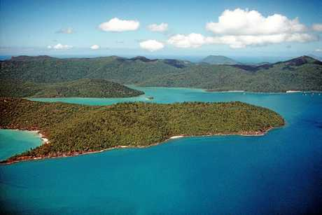 Cid Harbour in the Whitsundays.  Photo Contributed