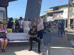 Coughing outbreak prompts evacuation of plaza
