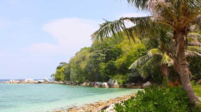 Belitung has pristine beaches and not a tourist in sight. Picture: Sangeeta Kocharekar