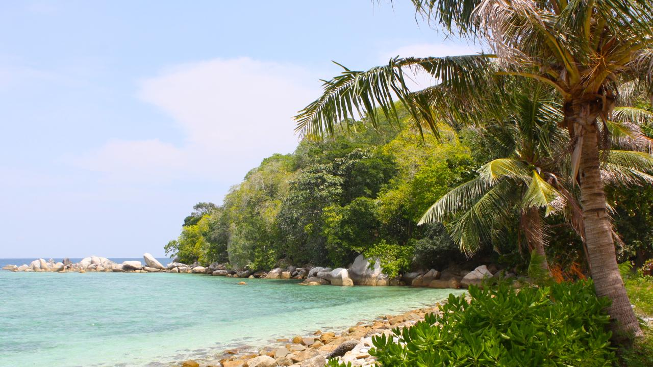 Belitung has pristine beaches and not a tourist in sight. Picture: Sangeeta Kocharekar