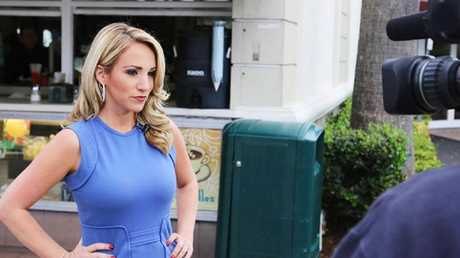 Paul Lambert stalked TV presenter Brittany Ann Kiel.