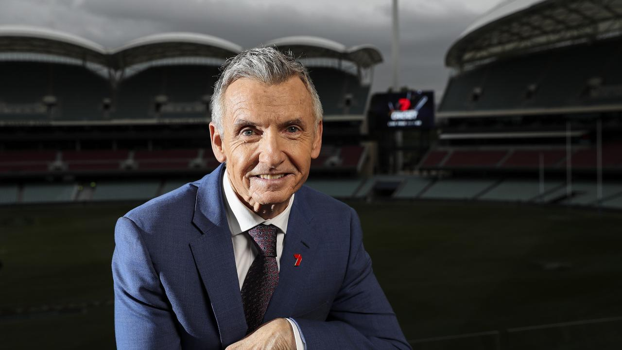 Bruce McAvaney will still have cricket, AFL and the Olympics to look forward to.