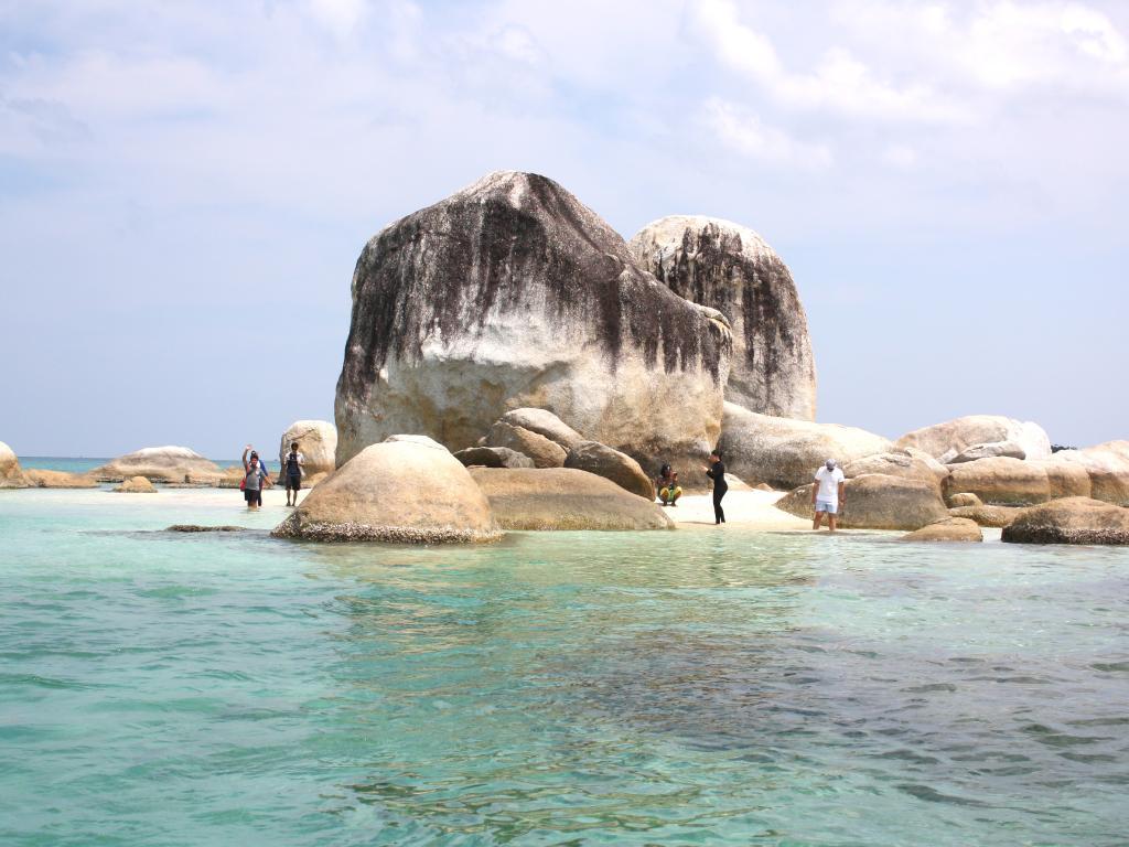 Enormous granite rocks by secluded beaches. Picture: Sangeeta Kocharekar