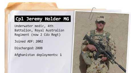 Corporal Jeremy Holder.
