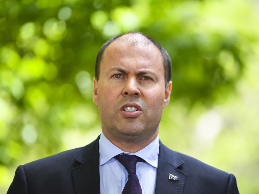 "Australian Treasurer Josh Frydenberg has announced APRA has been given an almost $60 million funding boost to beef-up its supervision and ""enforcement powers"". Picture: AAP"