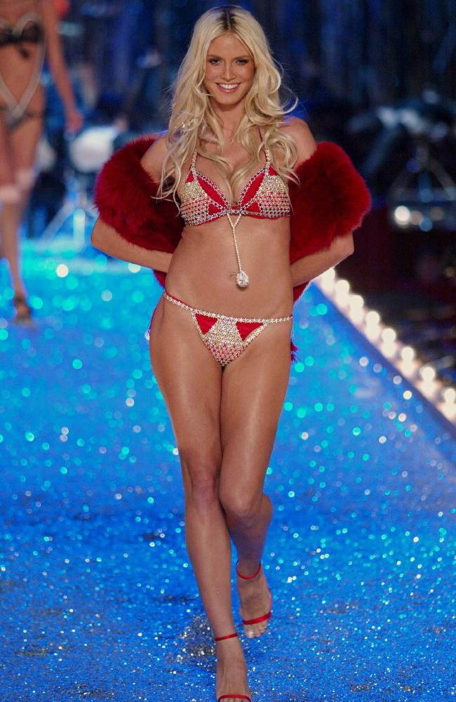 Victoria's Secret made Heidi Klum a supermodel. Picture: Getty Images