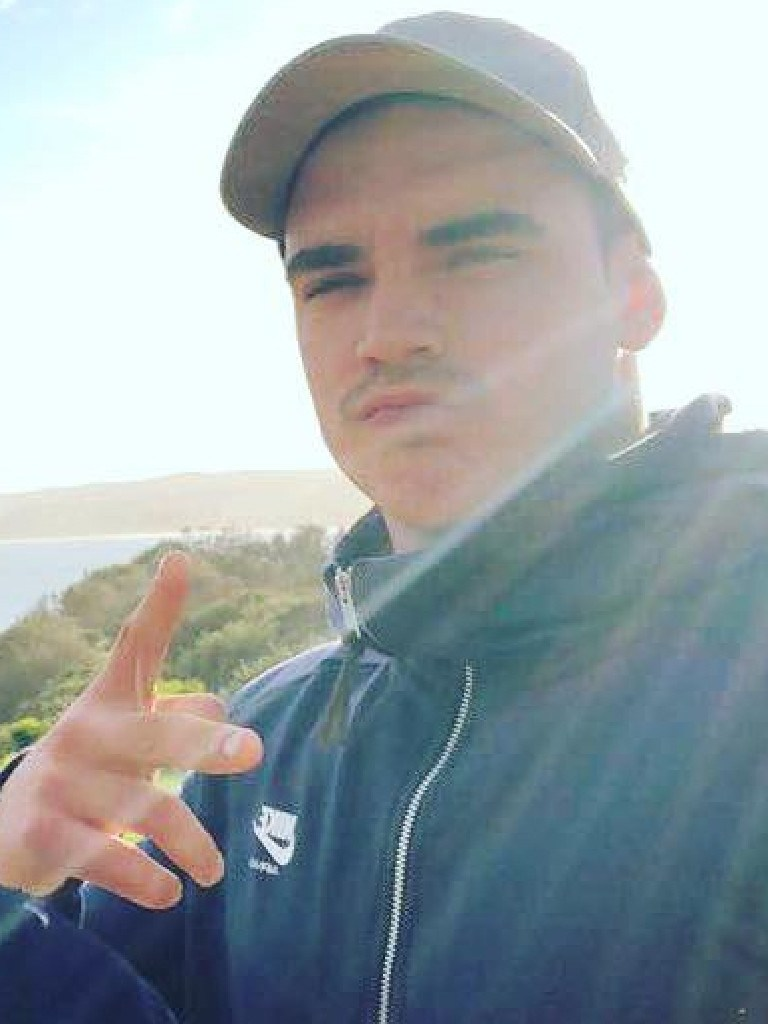 Mathew Flame (pictured) has been charged with the murder of Liam Anderson, the youngest son of Angry Anderson.
