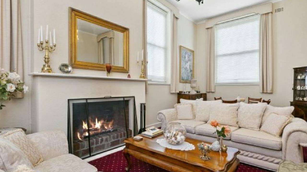 Original fireplaces remain.
