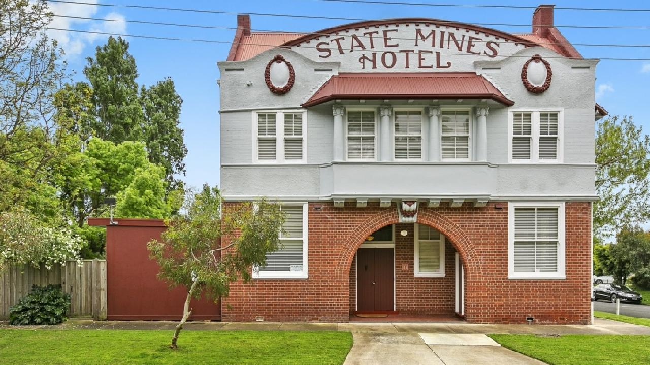 The State Mines Hotel Bed and Breakfast is for sale at 46-48 Station St, Wonthaggi.