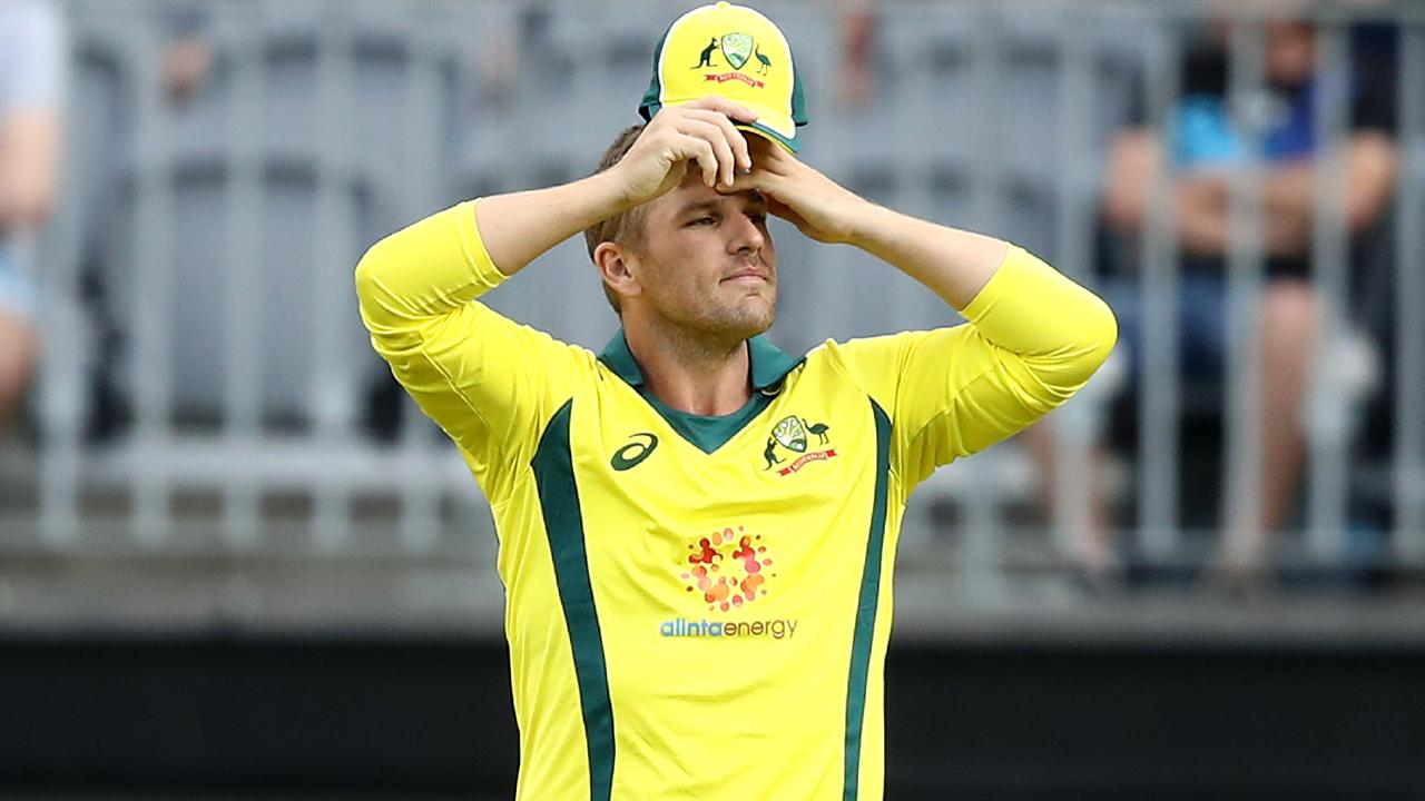 Australia skipper Aaron Finch didn't try to hide after the loss to South Africa in the first ODI. Picture: Getty