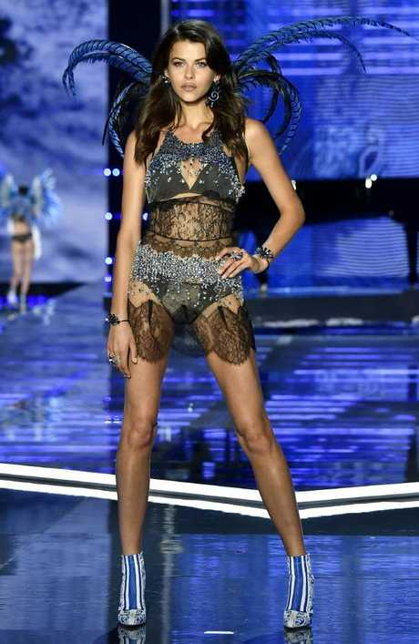 New Zealand model Georgia Fowler, pictured on the VS runway in China last year. Picture: Getty Images for Victoria's Secret