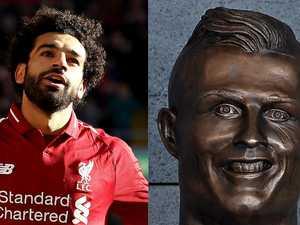 Salah statue: '10x worse than Ronaldo'