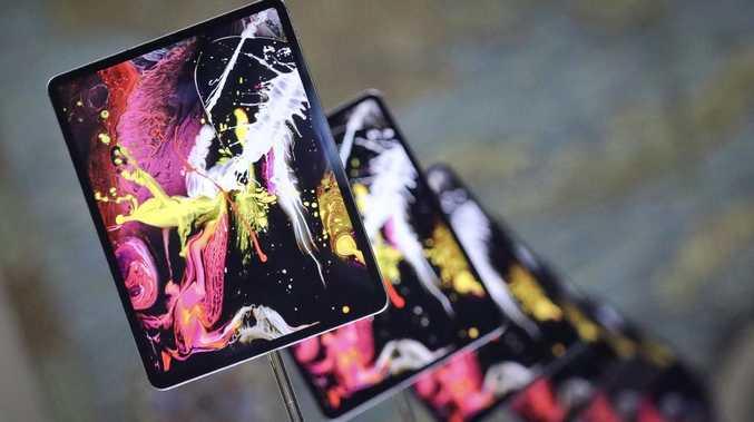 Apple's new iPad Pro models are advanced but cost more. Picture: AP Photo/Bebeto Matthews