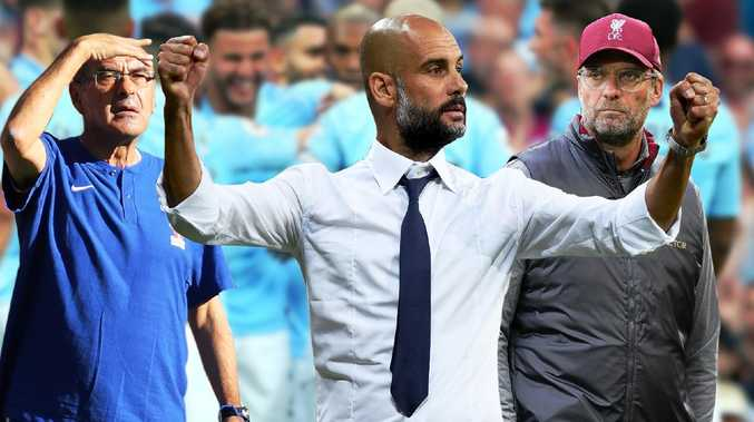 Manchester City's favouritism for the Premier League isn't truly captured by their two-point lead