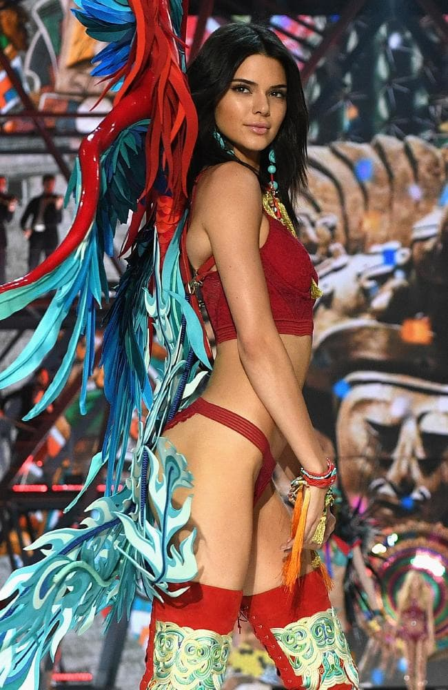 The world's highest-paid model, Kendall Jenner, is returning to the Victoria's Secret runway this week. Picture: Getty Images for Victoria's Secret