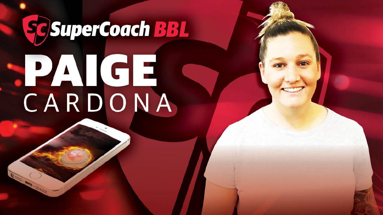 Paige Cardona has revealed her SuperCoach BBL side.