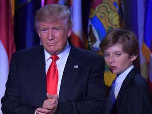Ugly rumour about Barron Trump