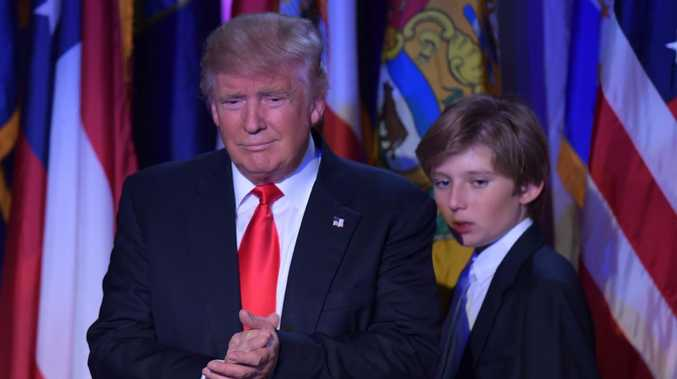 One of Donald Trump's latest policies has led to an ugly myth being circulated about his 12-year-old son Barron.