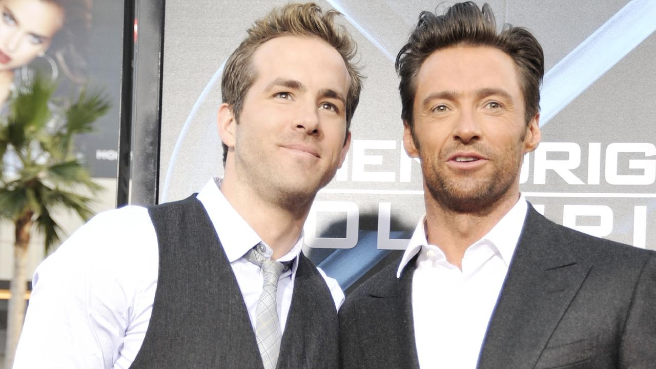 "Ryan Reynolds has roasted Hugh Jackman with a hilarious ""political"" video. Photo: Kevin Winter/Getty Images"