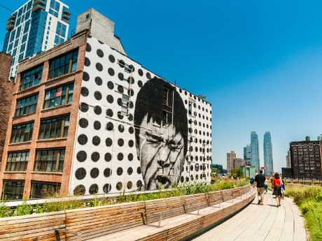 The High Line Park walk is a must-do in New York.