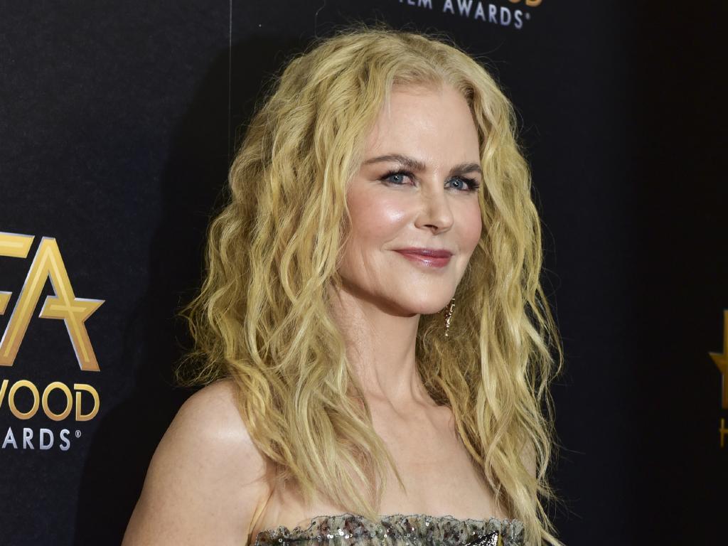Aussie star Nicole Kidman received the Hollywood Career Achievement Award.
