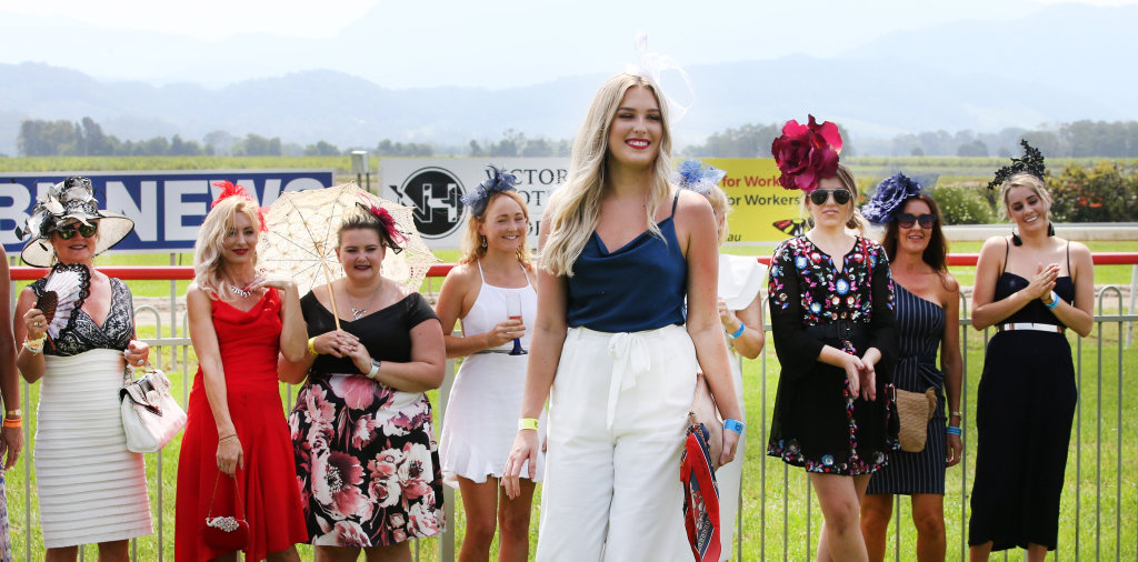 Image for sale: Action from the Melbourne Cup Race Day at the Tweed River Jockey CLub at Murwillumbah.Photo Scott Powick
