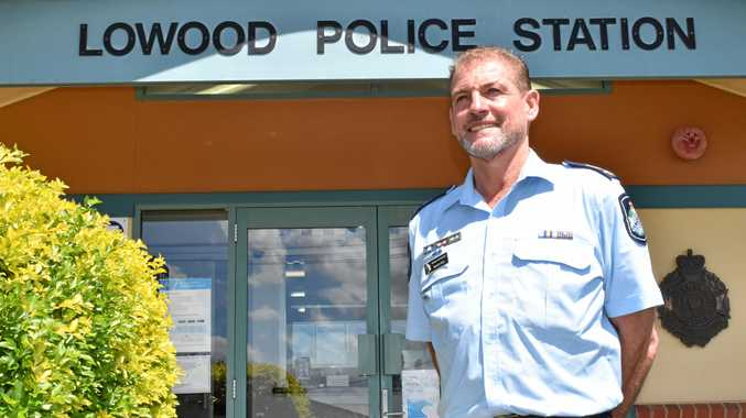 IN CHARGE: Senior Sergeant Bruce Peel was appointed officer in charge of the Lowood Police Station on October 13.
