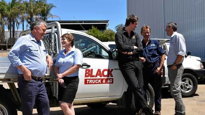 FRESH APPROACH: Black Truck and Ag Gatton opened their doors on October 3 after the purchase of the David Evans Group.