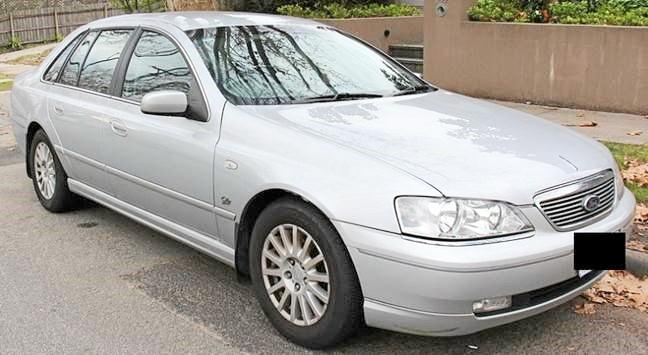 Police are seeking any information about the theft of tyres and car from a silver Ford Falcon which was parked at Traveston.