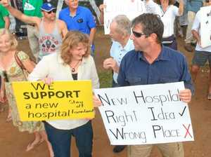 Mayor Milne backflips on hospital boycott