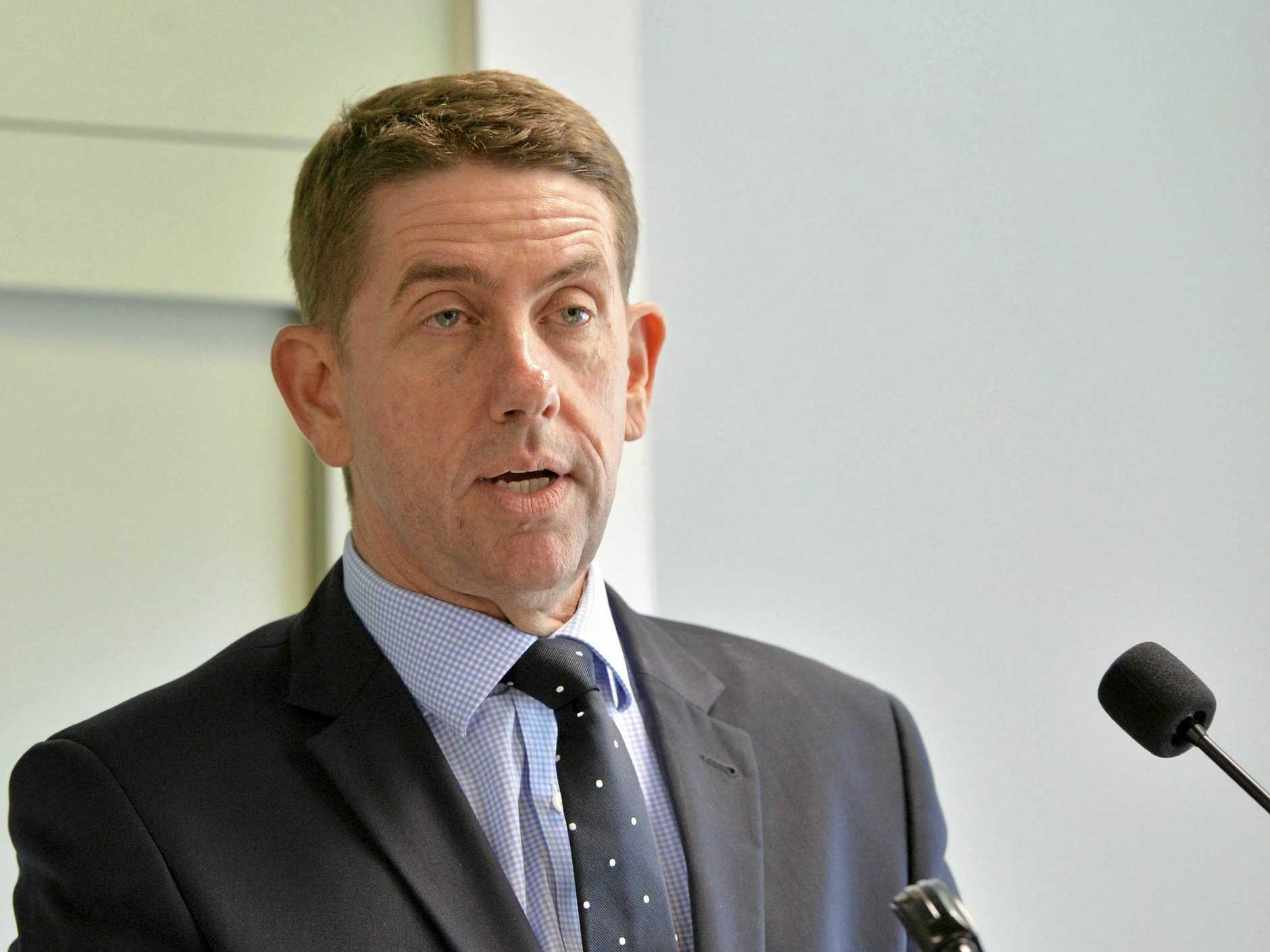 Minister for State Development, Manufacturing, Infrastructure and Planning Cameron Dick