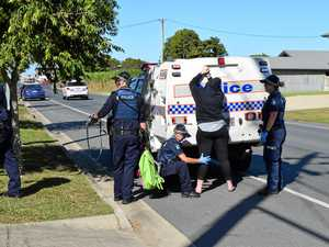 Ooralea home raid linked to Lone Wolves