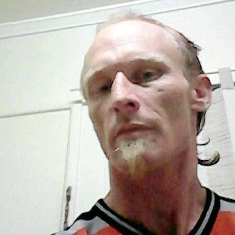 Ballina man Michael Stevens is accused of stabbing his flatmate in the face with a pair of scissors.