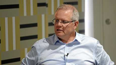 Prime Minister Scott Morrison in Rockhampton.